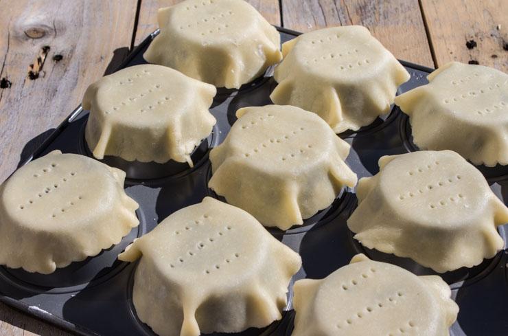 ... tart, I am making a sugar-butter based crust– pateê sucrée