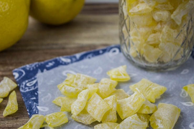 Lemon Drop Candies