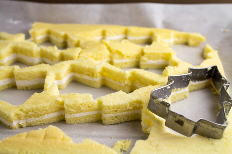 Cutting out the Snack Cakes