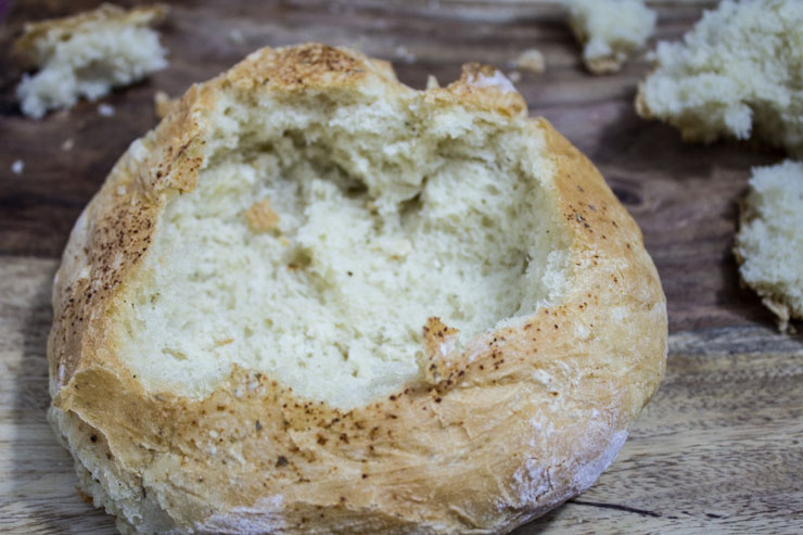 Bread Bowls from SouthernFATTY.com