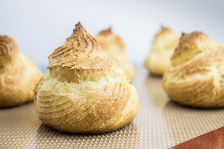 Baked Cream Puffs