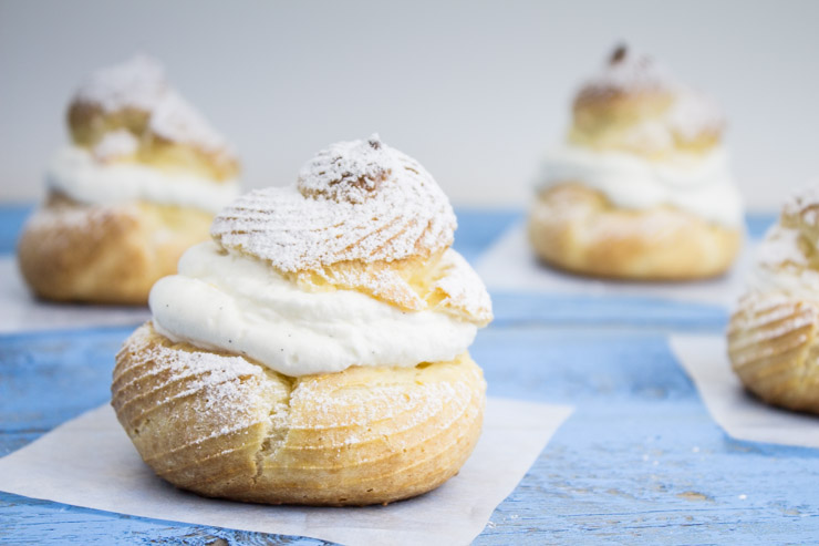 Finished Cream Puffs