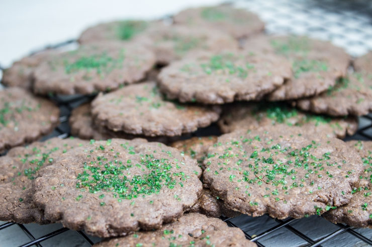 Baked Sable Cookies