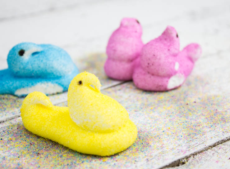 Homemade Marshmallow Peeps | Southern FATTY