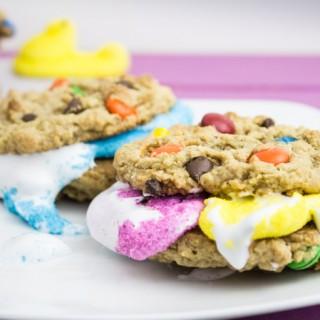 Peep Cookie Sandwiches