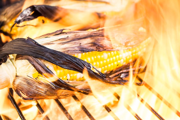 Grilling Herb Butter Corn