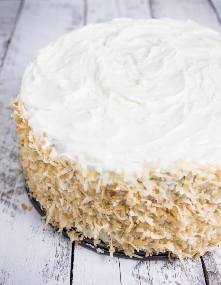Toasted Coconut Carrot Cake