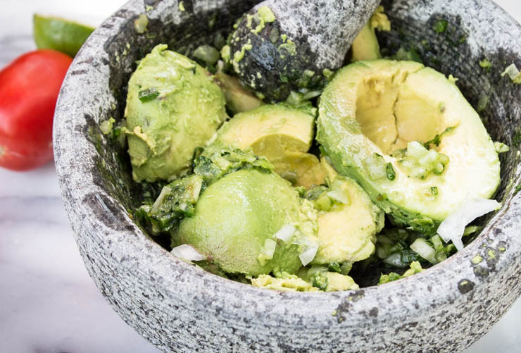 Fresh Homemade Guacamole