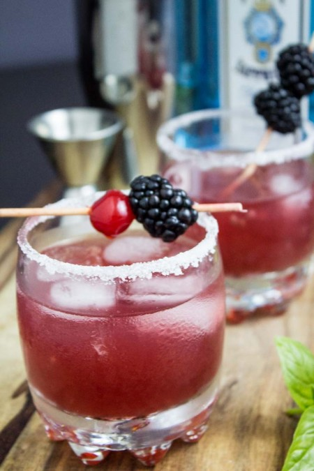 Blackberry Gin Punch
