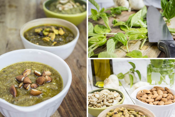 Pesto Three Ways