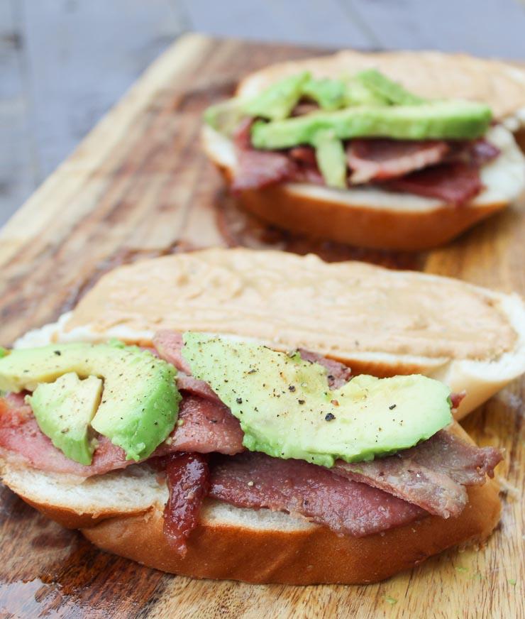 Country Ham Melt Sandwich