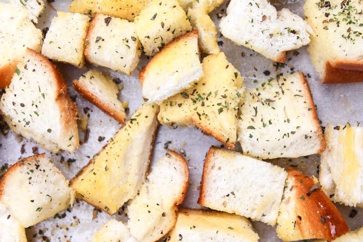 Seasoned Bread for Croutons