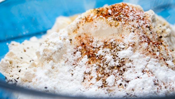 Seasoned Flour for Frying