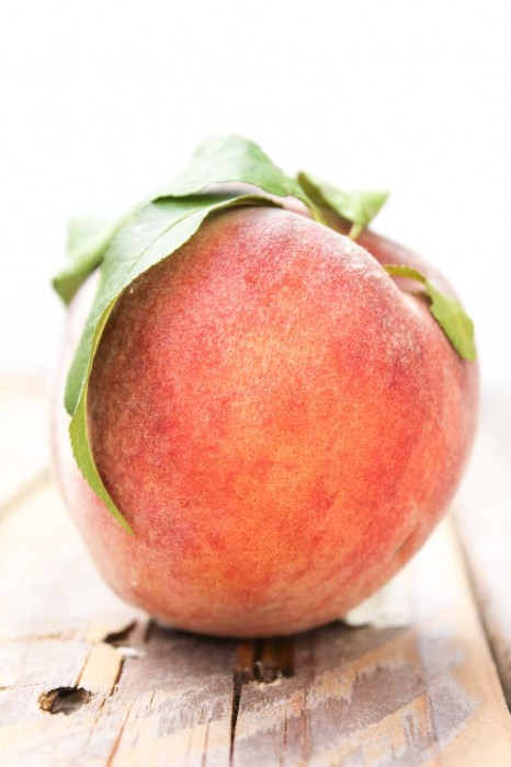 Fresh, Local Kentucky Peach