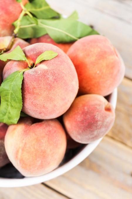Ripe, Local Peaches