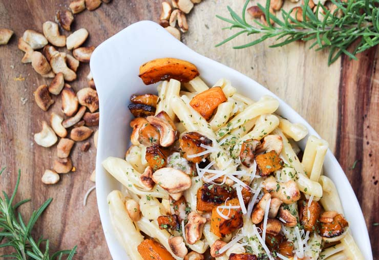 Brown Butter Butternut Cream Pasta