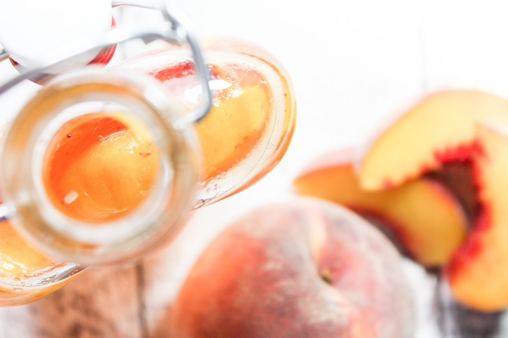 Peach Simple Syrup