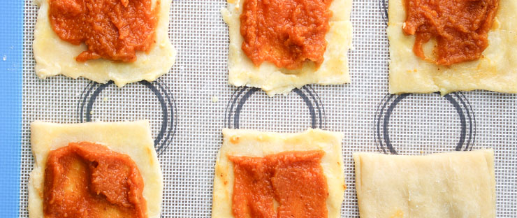 Pumpkin Spice Filled Homemade Pop Tarts