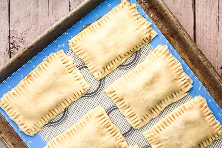 Homemade Pop Tarts Ready To Bake