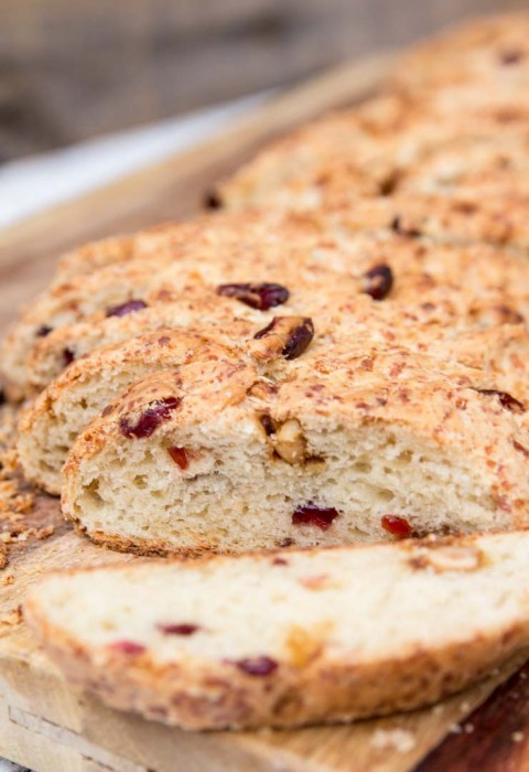 Baked Biscotti Bread