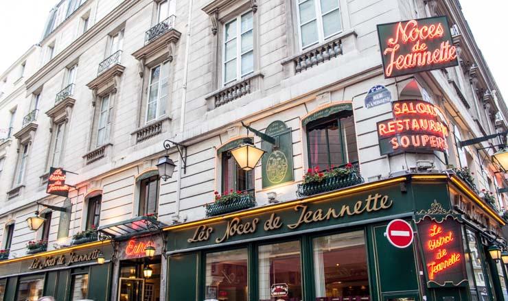 Les Noces de Jeannette - Paris