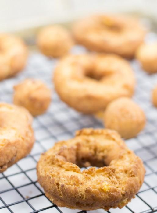 Peppered Corn Doughnuts