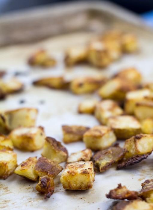 Crispy Potatoes for Tacos