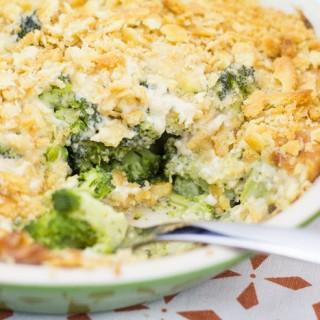 Broccoli Casserole from Scratch