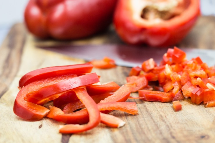 Red Peppers for Relish