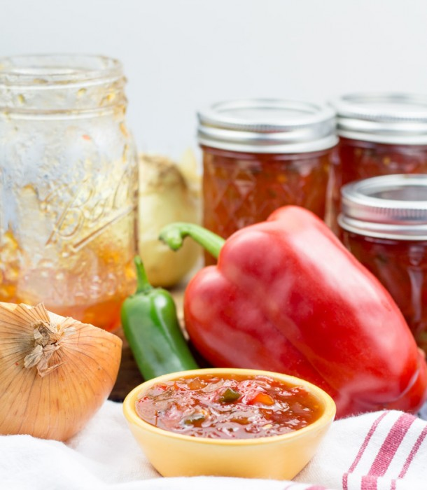 Sweet Red Pepper Relish