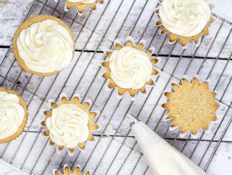 Ginger Beer Cupcakes with Roasted Pear Mascarpone Frosting | Southern ...