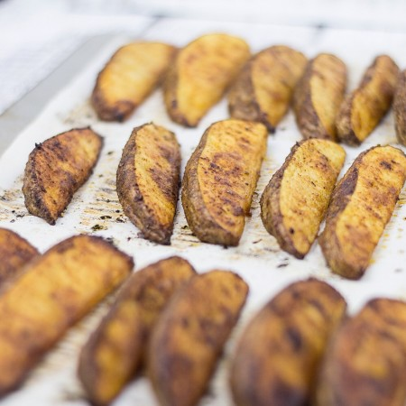 Potato Wedges with Smoky Seasoning