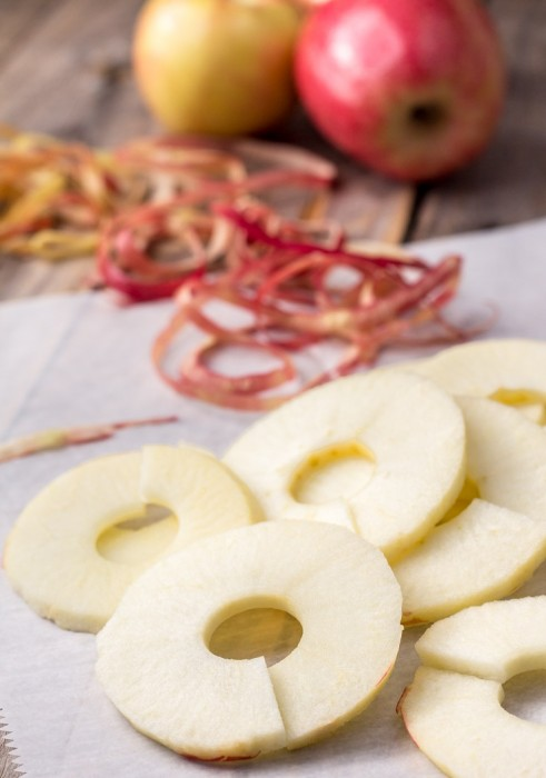 Sliced Apples for Beignets