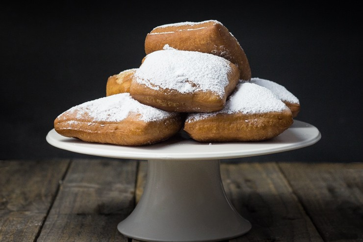 Apple Havarti Beignets