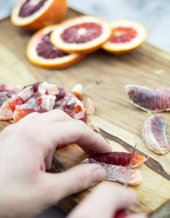 Blood Oranges for Biscuits