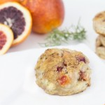 Blood Orange Biscuits