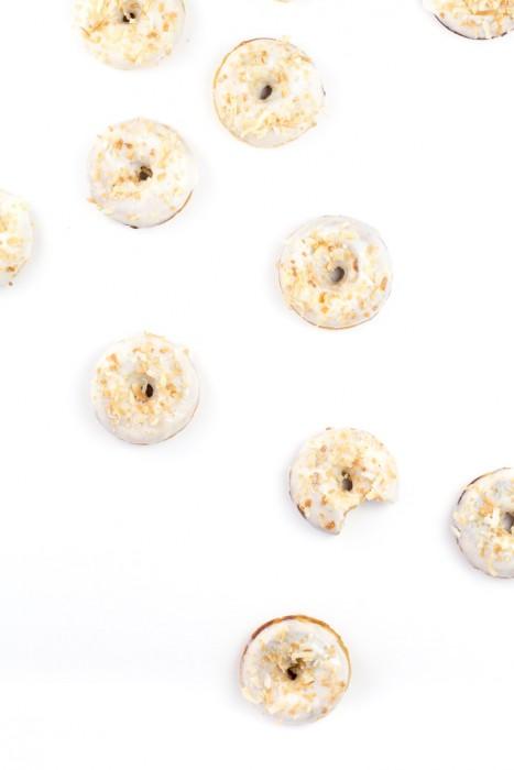 Mini Carrot Cake Doughnuts