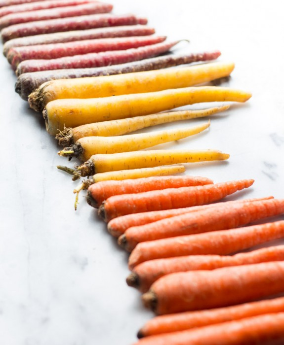 Rainbow Carrots for Carrot Cake