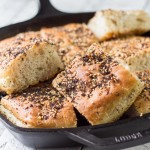 Everything Bagel Focaccia Bread
