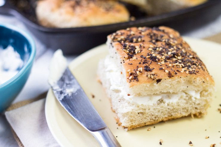 Everything Bagel Focaccia Bread