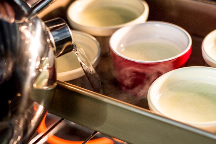 Baking Drunken Pecan Crème Caramels