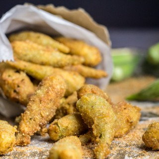 Cajun Fried Okra