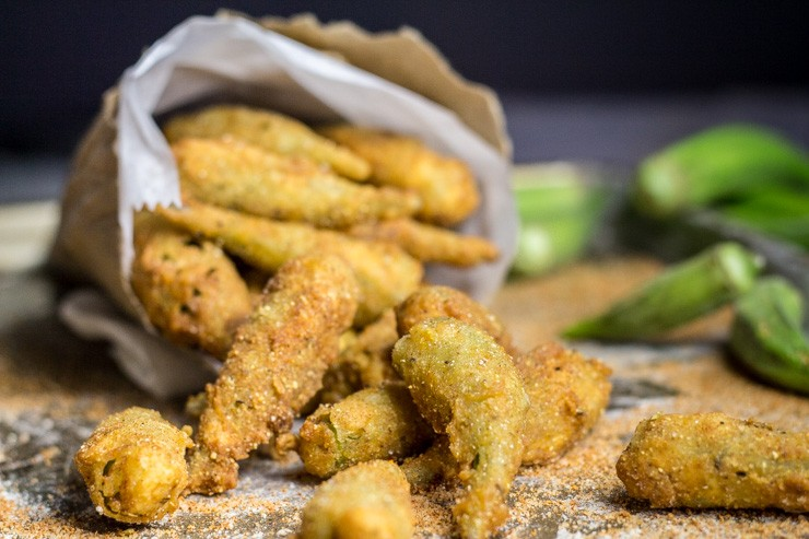 Cajun Fried Okra