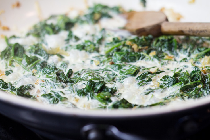 Southern Creamed Spinach