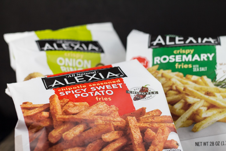 Alexia Natural Frozen Fries and Onion Rings