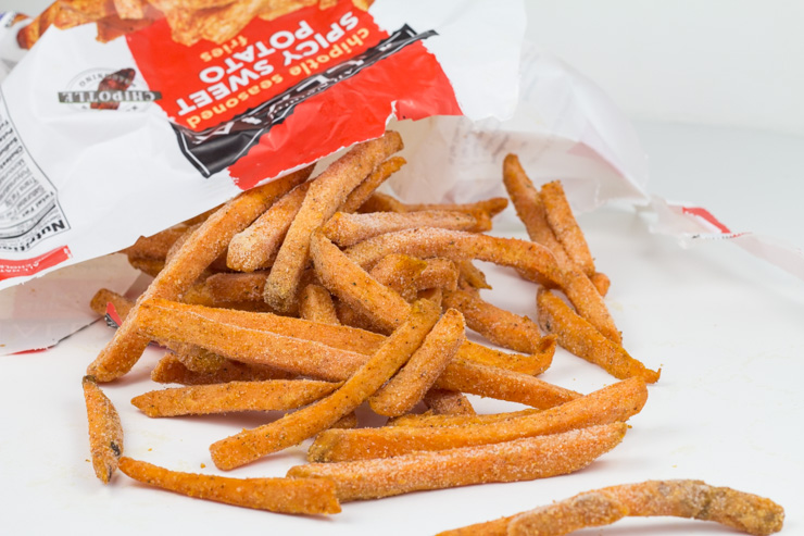 Alexia All Natural Chipotle Seasoned Spicy Sweet Potato Fries for the Mini Quiche Crust