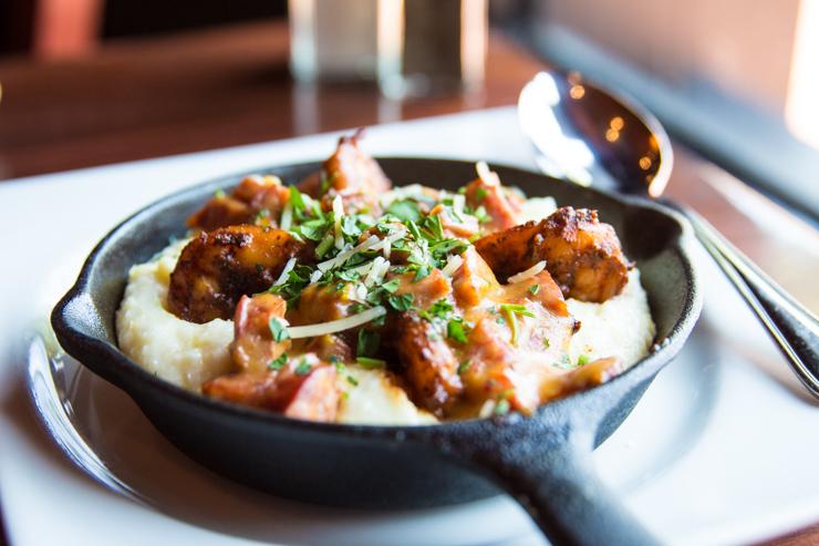 Shrimp & Grits from Grille 29 - Huntsville, AL