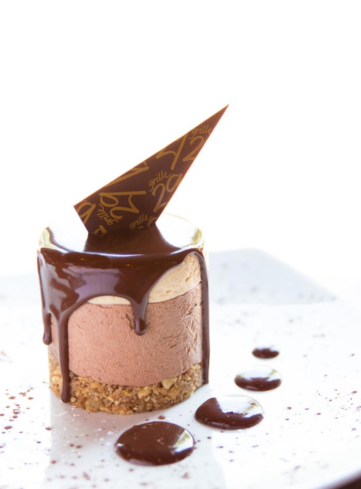 Chocolate Mousse Cake at Grille29 - Huntsville, AL