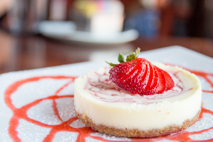 Cheesecake at Grille 29 - Huntsville, AL