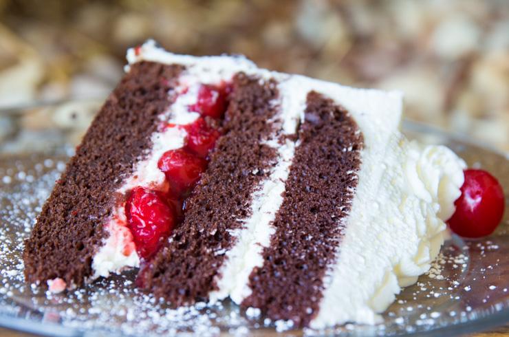 Black Forrest Cake at Hildegard's - Huntsville, AL